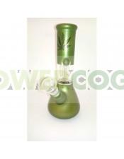 BONG CRISTAL PERCOLATOR 20CM-Verde