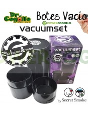Botes de vacío 600ml + 300ml (Secret Smoke)