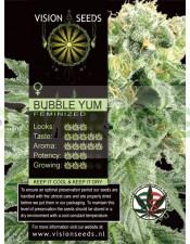 Bubble Yum Vision Seeds Semilla Feminizada de Marihuana
