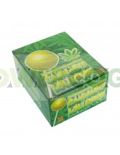 C - Lollipops con chicle Lemon Haze