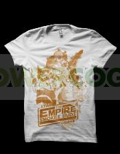 Camiseta The Empire Smokes de Smonkey - Marihuana t-shirt