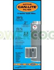 Filtro Can-Lite 1000 m3/h 50 cm Boca 250mm
