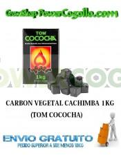 CARBON VEGETAL CACHIMBA 1KG (TOM COCOCHA)