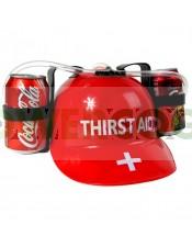 Casco para bebidas - Thirst Aid para fiestas y eventos