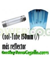 Reflector Cool Tube 150mm más Reflector Liso o Stuco