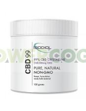 Cristales Isodiol CDB 99% 100gr.
