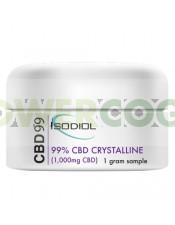 Cristales Isodiol CDB 99% 1gr.
