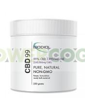 Cristales Isodiol CDB 99% 250gr.