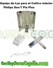 equipo kit iluminacion cultivo philips sont-