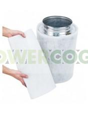 Filtro Carbón Activo Falcon Antiolor Culitvo 200x600mm (1125m3/h)