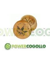 Grinder de Madera Marijuana Leaf
