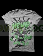 Camiseta Hemp Attack de Smonkey T-Shirt - Marihuana