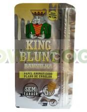 KING BLUNT WRAPS K.S. 5 HOJAS SABORES-vainilla