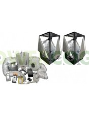 Kit CultiBox SG-Combi XL (240x120x200cm) Completo Armario de Cultivo Interior,