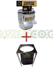 Maquina Peladora Trimpro Rotor + Mesa
