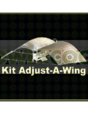 Kit 600 w Sylvania + Reflector Adjust-a-Wings Stuco