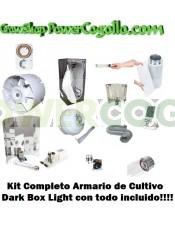 Kit Completo Armario Dark Box Light 120