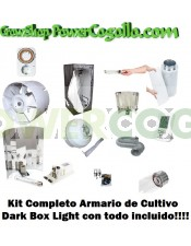 Kit armario de Cultivo Dark Box Light ECO 400w