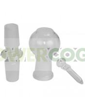 Kit Conversión BHO Recto 14mm BHO Borosilicato