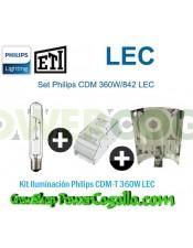 Kit Iluminación Philips CDM-T 360W LEC-REFLECTOR LISO