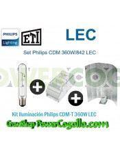 Kit Iluminación Philips CDM-T 360W LEC-REFLECTOR STUCCO