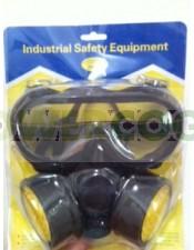 Set de Protección; Gafas + Máscara para tu cultivo