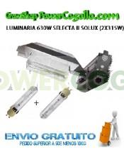 LUMINARIA 630W SELECTA II SOLUX (2X315W)