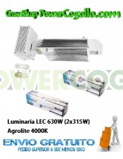 Luminaria LEC 630W (2x315W) Agrolite 4000K