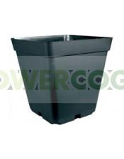 Maceta Cuadrada Negra (18 Litros) 31X31X31cm