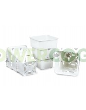 """Maceta Blanca Air Max Pot 7 Litros maceta aireada para mejorar las raíces de las plantas  Maceta Blanca Air Max Pot 7 Litros  Las macetas Air-Max Pot son una nueva generación de contenedores""""inteligentes"""" que promueven una poda natural continuada de raíce"""