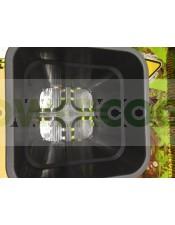 Maceta Cuadrada Blanca (18 Litros) 31X31X31cm