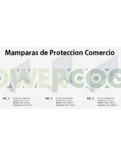 Mampara de Protección Transparente 70x100cm