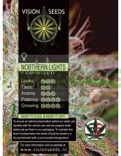 Northern Lights (Vision Seeds) Semilla Cannabis Feminizada