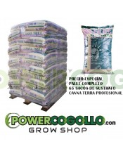 Palet Sustrato Canna Terra Profesional 50 Lt (65 sacos)