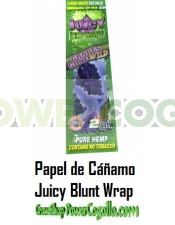 PAPEL DE CAÑAMO HEMP WRAPS JUICY BLUNT UVA