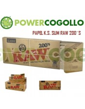 Papel de Fumar RAW K.S. Slim 200´s