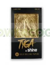Papel de Oro Tyga 24K K.S  6 Hojas