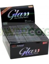 Papel de fumar Papel Transparente K.S. Glass CLEAR Celulosa