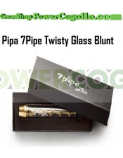 Pipa 7Pipe Twisty Glass Blunt