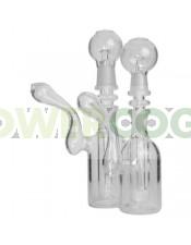 Pipa agua BHO Bubbler Borosilicato 14 mm
