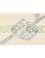 Pipa Cristal Espiral Doble 24 cm