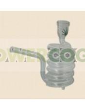 Pipa Cristal Espiral Vertical Peq. con Maletin Negro