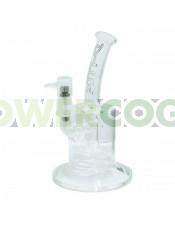 Pipa de Crista Bho D-Luxe 24 cm + Tornillo Titanio para fumar BHO, Aceites y Resina de Marihuana