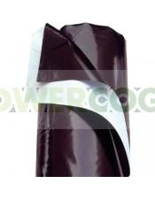 Plástico Reflectante Blanco y Negro (10mt)