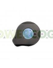 Tarro de Vidrio con Lupa y LED Dank 420-NEGRO