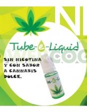 Esencia Tube-e Liquid 10 ml sabor Marihuana E-Liguid para tu cigarro electrónico