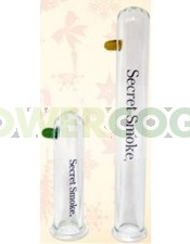 Tubo Extractor Borosilicato Secret Smoke para Bho con gas