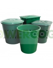 Depósito de agua Redondo Verde