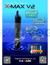Vaporizador X-MAX V2 (bho-hierbas)-negro
