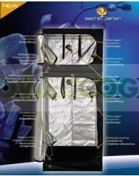 Armario Dark BoxTwin Doble V2.5 90x90x220 Cm
